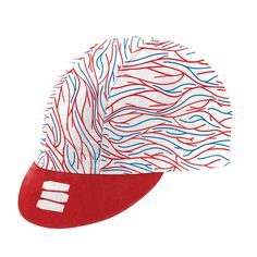 DSC x MORVELO BLOOD BROTHERS WHITE CYCLING CAP