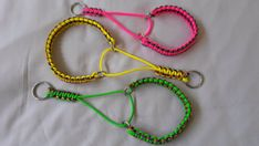 Martingale Dog Collar, Paracord 550, Cobra weave, Suitable for smaller dog, Many colours to choose from