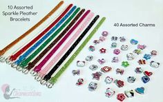 B-Day party favors! Create you sparkle visiting http://www.charmsations.com/#Carol