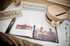 Sign-In Wedding Photo Book - mazelmoments.com