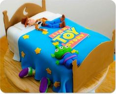 "18 ""Toy story cake by little Millie's 100% edible made using both the star cutter and ball tool.. xx"" by Little Millie's"
