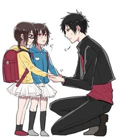 Izaya and Kururi, Mairu. :'D <3