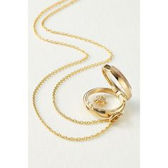 Loquet 14kt Round Locket With 18kt Gold Charm And Diamonds (3,770 CAD) ❤ liked on Polyvore featuring jewelry, pendants, gold jewellery, diamond jewellery, yellow gold charms, gold diamond jewelry and gold charms