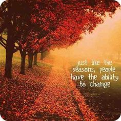 People Have ability to change