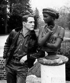 We Had Faces Then — Paul Newman, 1957                              …