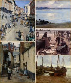 More beautiful paintings by Stanhope Alexander Forbes.