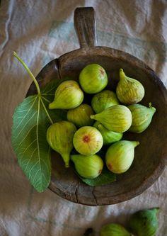 Juicy fresh figs.