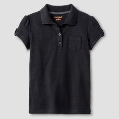 Girls' Interlock Polo Shirt - Cat & Jack, Girl's, Size: