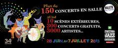 Festival International de Jazz de Montréal 2013   http://www.montrealcafe.com/fr/lieux/8231-festival-international-de-jazz-de-montr%C3%A9al