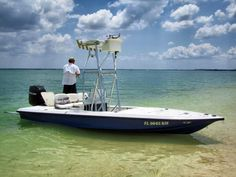 Really want a boat I can fish the flats with!