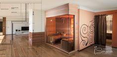 Sauna construction upon individual ideas