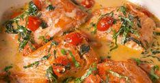 Saumon à la Toscane