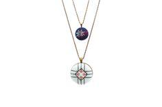 Petite Hand Stitched Flora Necklace | Zelma Rose