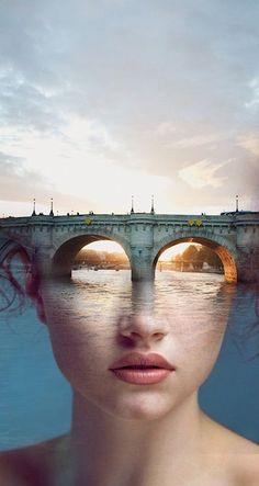 Ok non è una pubblicità, ma è un dipinto moderno surrealista dello spagnolo Antonia Moria. Arte incantevole allo stato puro