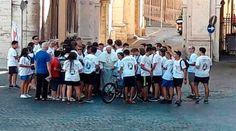 Papa Francisco bendice a jóvenes ciclistas en peregrinación por el Jubileo 06/09/2016 - 09:34 am .- Esta mañana, alrededor de las 10:00 a.m. (hora local) el Papa Francisco salió de la Casa Santa Marta donde reside en el Vaticano para bendecir a un grupo de jóvenes ciclistas provenientes de la ciudad italiana de Milán.
