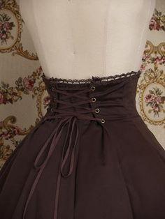 Braided High Waist Skirt Mary Magdalene