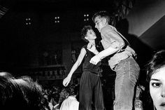 Couple Dancing at the Palladium The East Village by Ken Schles 1985