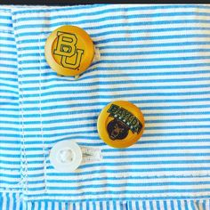 Baylor Button Covers NOW AVAILABLE! Turn your favorite apparel into custom gear MadetoALTR.com