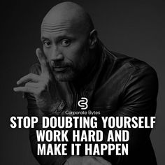 Business Motivation - Don't let self-doubt creep in and rob you of the Lifestyle that you deserve. There are enough naysayers out there. But the one with the most power is the one looking back at you in the mirror! Rock Quotes, Quotes To Live By, Me Quotes, Motivational Quotes, Inspirational Quotes, Qoutes, Business Motivation, Business Quotes, Strong Quotes