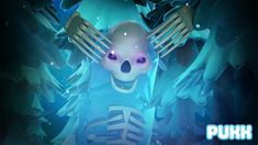 Pukk Boss Update - Frozen Skeleton Skeleton, Boss, Frozen, Tableware, Dinnerware, Tablewares, Skeletons, Dishes, Place Settings