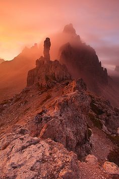 Dolomites, Italy ~ UNESCO World Heritage Site