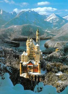 Neuschwanstein Castle, in Bavaria, Germany. My favourite castle in the whole wide world!