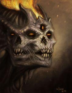 Dark Creature by NathanRosario