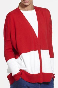 Solstice Cardi SS2015 NINETEEN//46 NZ$249 #knitwear #fullyfashioned #summerknitwear #summer #cotton