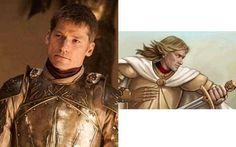 Game of Thrones karakterleri kitapta nasıl görünüyor? Jaime Lannister