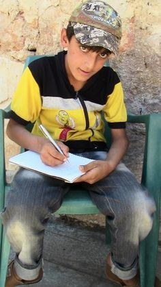 Disabled Syrian Child's Life Changed