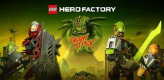 LEGO Hero Factory: Brain Attack llega a Android http://www.xatakandroid.com/p/89046