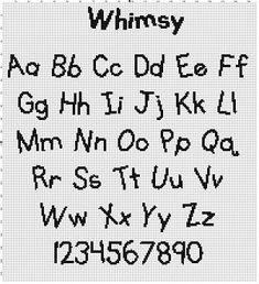 description to come | Crafty | Cross stitch alphabet patterns, Cross