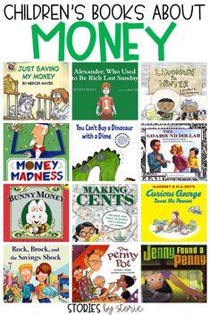 Teaching Kids Money, Teaching Math, Counting Books, Money Book, First Grade Math, Grade 1, Second Grade, Math Stations, Financial Literacy