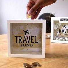 craete a travel fund money box travel diy