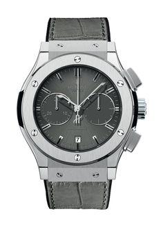 Classic Fusion Racing Grey Titanium  Chronograph watch from Hublot