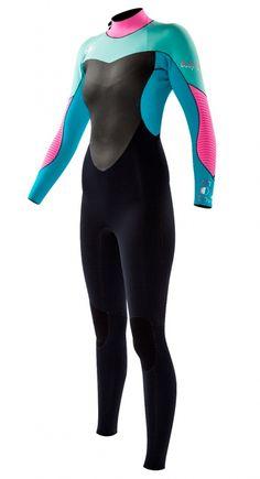 9e3a113e1e 4 3mm Women s Body Glove EOS Fullsuit