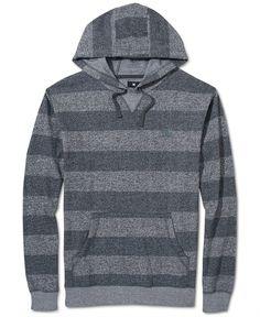 DC Shoes Hoodie, Rebel Stripe Fleece - Hoodies & Fleece - Men - Macy's