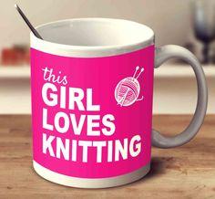 This Girl Loves Knitting