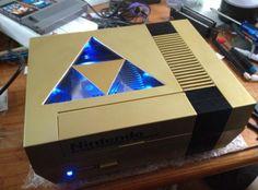 NES customizada, Zelda.