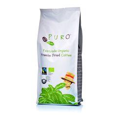 Puro Fairtrade Organic Freeze Dried Coffee wird von kleinen engagierten Kaffeebauern mit großer Sorgfalt geerntet