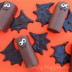 adorable bat treats Halloween treats for kids!@