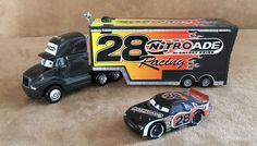 Nitroade Cars & Haulers Disney Pixar diecast Mattel truck lot set 28 race black #Disney