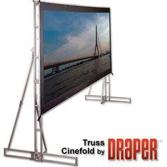 Truss Style Cinefold Cineflex Portable Projection Screen Viewing Area: H x W Printer Paper, Inkjet Printer, Epson Ecotank, Portable Projector, Projection Screen, Wireless Lan, Video Wall, Medan, Flexibility