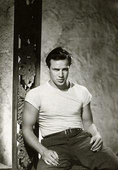 Marlon Brando for A Streetcar Named Desire by John Engstead, 1950 © John Kobal Foundation