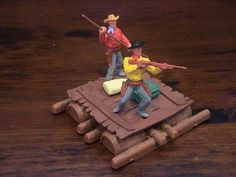 Timpo Cowboy Raft - Made in New Zealand - 1970 s