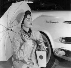 La Femme Rain Gear, 1950's
