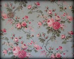 victorian floral fabric - Google Search