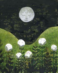 moon by CartomancyMagazin