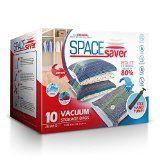 #6: SpaceSaver Premium Space Saver Vacuum Storage Bags (40 x 30 Inch) 10 x JUMBO SIZE BAGS