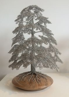 WireWood tree sculptures - Amazingly realistic Wire Tree Sculptures!
